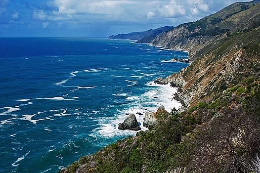 Big Sur Coastline by Suzanne Stout