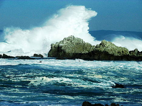 Joyce Dickens - Big Water At Pacific Grove CA Two