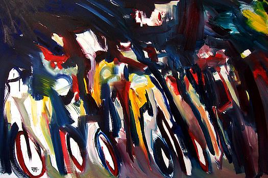 Bike Race Energy by John Gholson