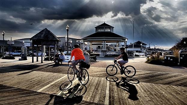 Bike the Boardwalk at Rehoboth Beach  Delaware, 2015 by Wayne Higgs