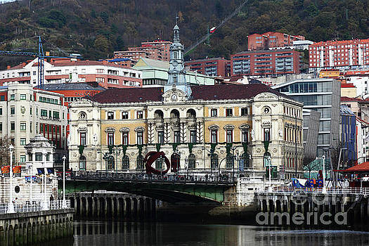 Bilbao Town Hall Basque Country Spain by James Brunker