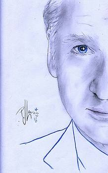 Bill Maher by P J Lewis