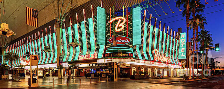 Binions Casino Entrance by Eric Evans