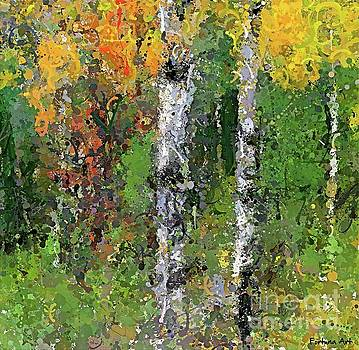 Birch Trees by Dragica Micki Fortuna