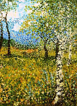 Birches by Nina Nabokova
