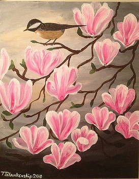 Bird and Flowers by Tim Blankenship