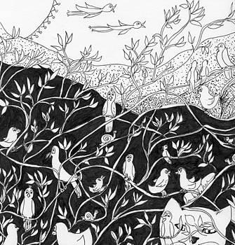 Bird Convention by Lou Belcher