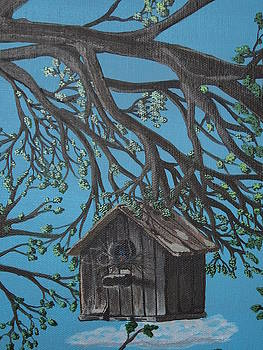 Bird house by Gerard Provost