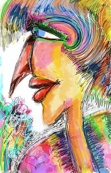 Bird Lady  by Sladjana Lazarevic