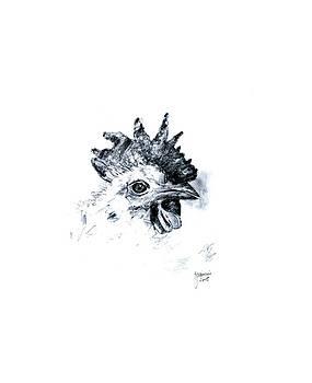 Bird Sketch by Foqia Zafar