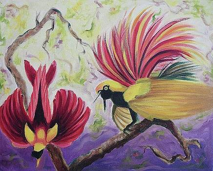 Suzanne  Marie Leclair - Birds of Paradise