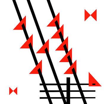 Birds On A Wire by Beth Achenbach