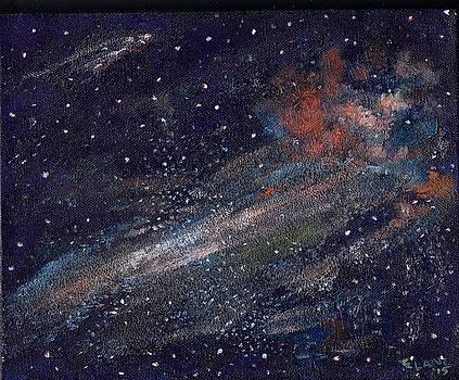 Birth of a Galaxy by Elizabeth Lane