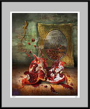 Birth of Pomegranate by Zia Art