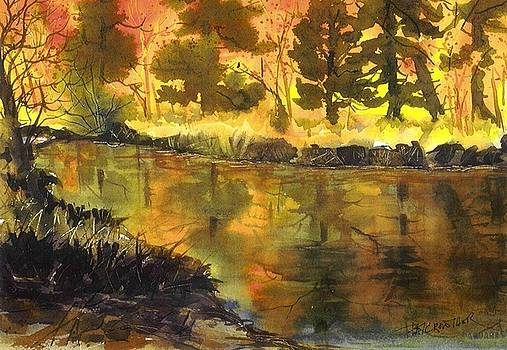 Bishop Creek Autumn by Pat Crowther