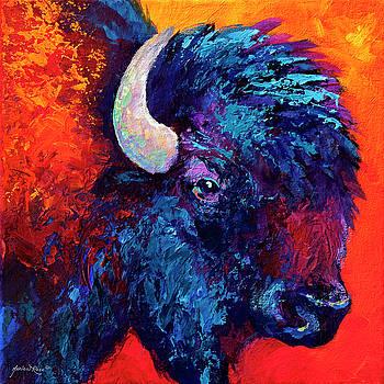 Marion Rose - Bison Head Color Study II