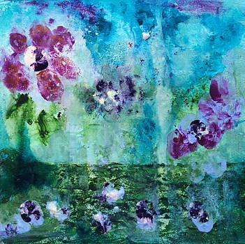 Bits of Pansies by Natalie Singer