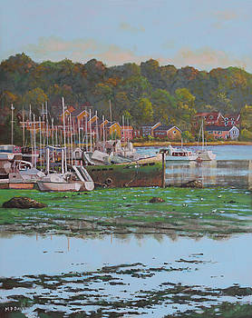 Bitterne Boats Southampton by Martin Davey
