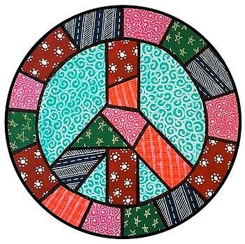 BKs Peace Symbol by Jim Harris
