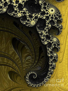 Black and Gold Elegance by Elaine Teague