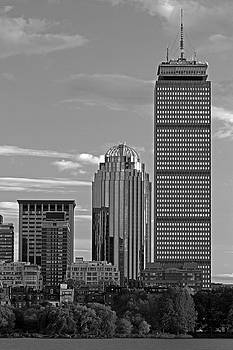 Juergen Roth - Black And White Boston Prudential Center