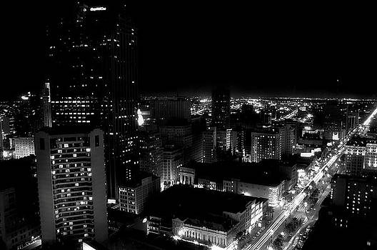 Black and White Nights of New Orleans by Gulf Island Photography and Images