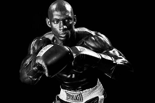 Val Black Russian Tourchin - Black Boxer in Black and White 07