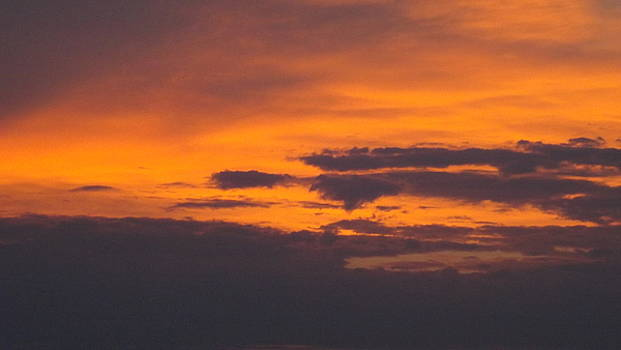 Black Cloud Sunset  by Don Koester