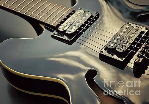 Black Guitar by Lyn Randle