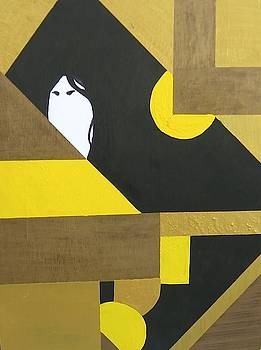 Black Haired Beauty by Takayuki  Shimada