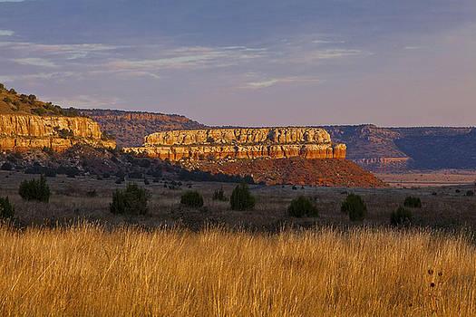 Black Mesa Sunrise by Charles Warren