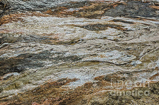 Black Obsidian Sand and Other Textures by Sue Smith