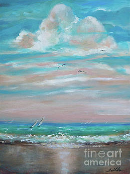 Black Sand Beach by Linda Olsen