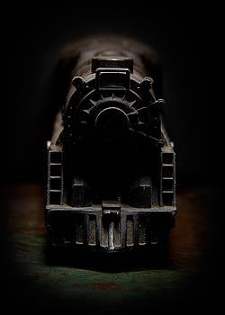 Art Whitton - Black Toy Train Engine