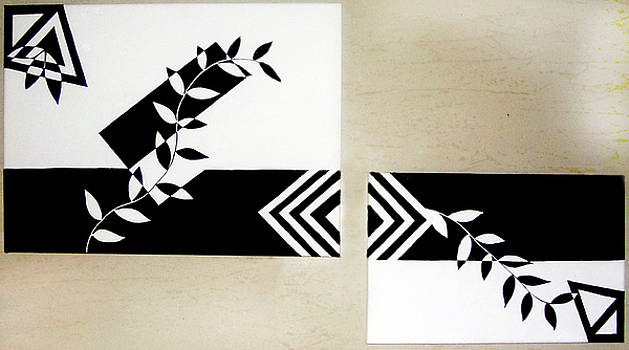 Black Vs White by Farah Faizal