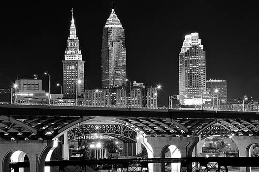 Frozen in Time Fine Art Photography - Blackest Night in Cleveland