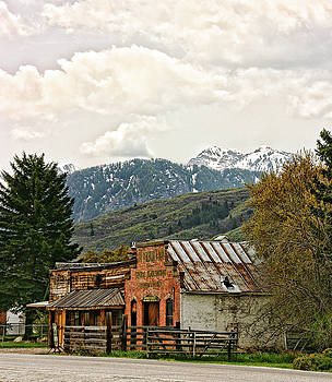 Blacksmith in Utah by Vicki McLead