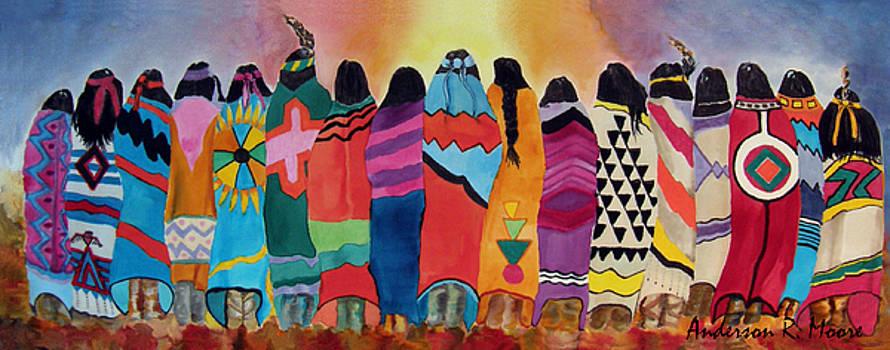 Anderson R Moore - Blanket Dancers