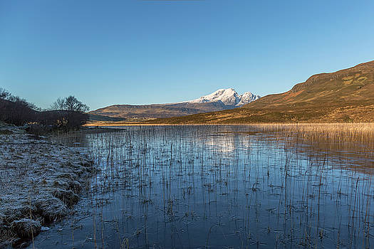 Blaven Across Loch Cill Chriosd by Derek Beattie