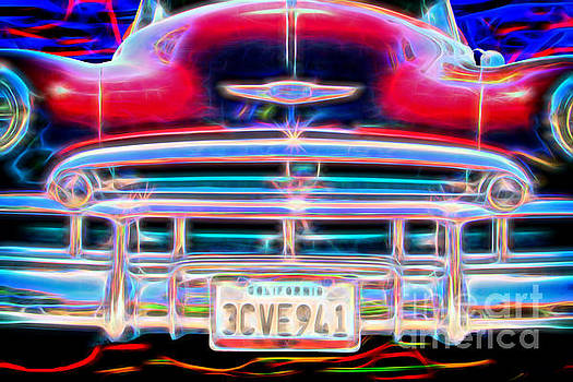 Blazing Chevy by Mariola Bitner
