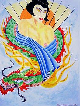 Blind Dragon Lady by Roger Golden