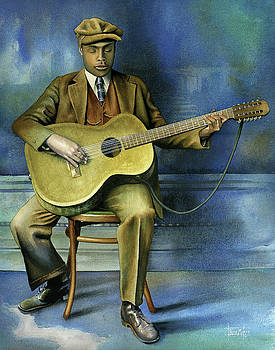 Blind Willie McTell by Rich Marks