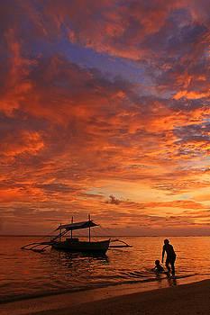Blissful Sunset by Janet Pancho Gupta