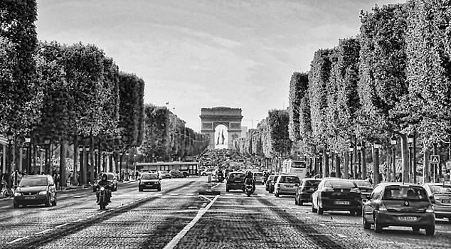 Chuck Kuhn - Blk n Whte Paris