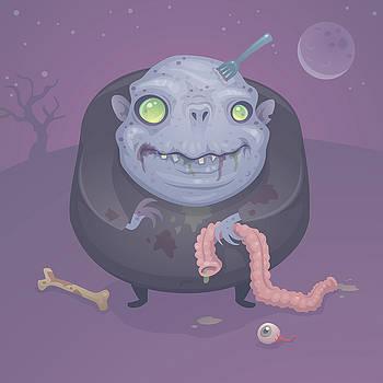Blob Zombie by John Schwegel