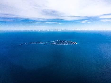 Block Island Blue by Rachel E Moniz