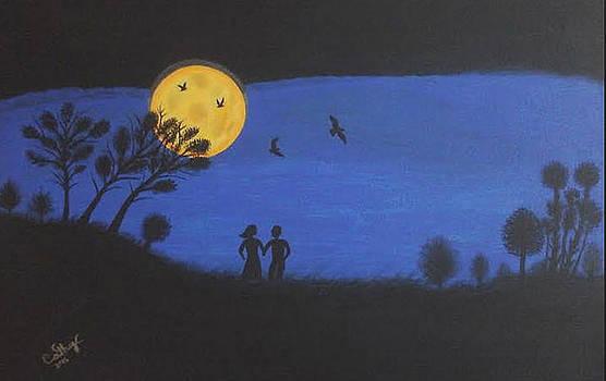 Blood Moon by Catherine Velardo
