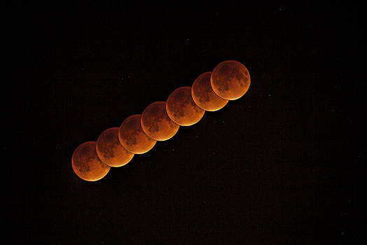 Blood Moon Passing by Andrew Soundarajan