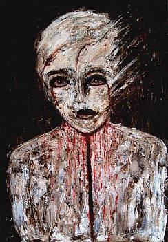 Bloody weeping by Katerina Apostolakou