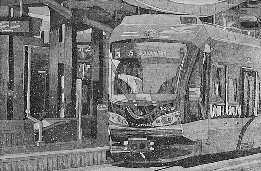Bloomington Station by Jude Labuszewski